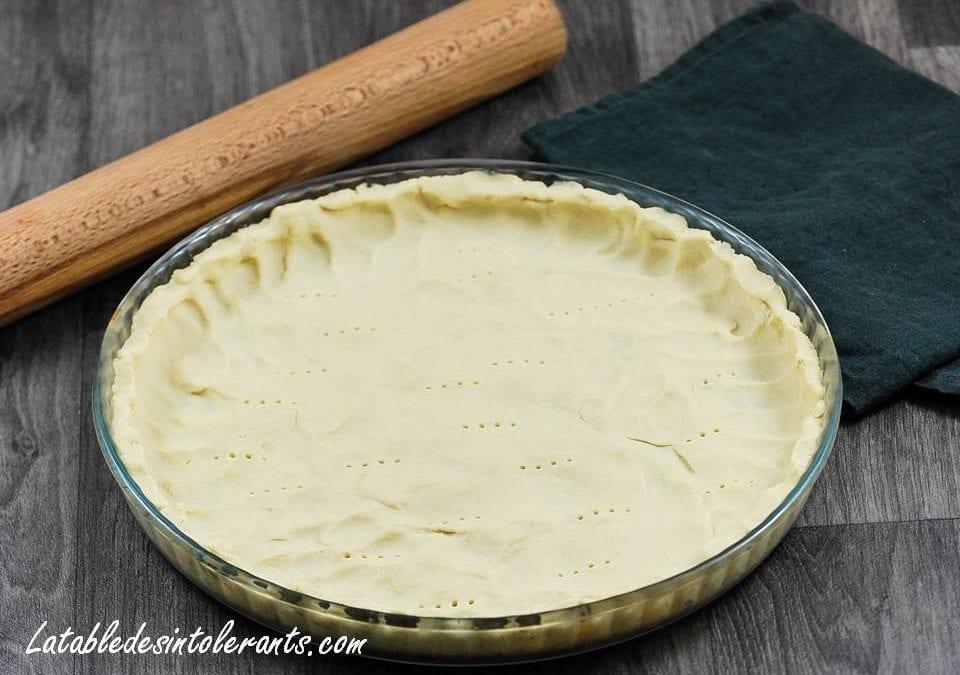 PÂTE BRISÉE sans gluten, sans lait, sans sucre, sans levure, sans oeuf