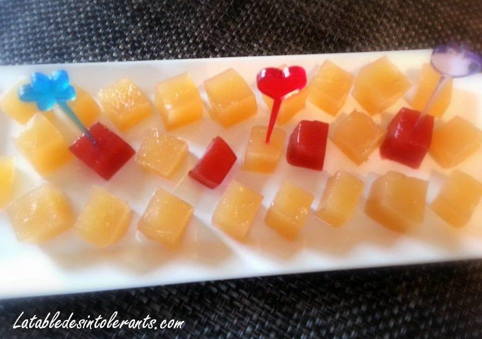 PÂTE DE FRUITS POMME GINGEMBRE avec ou sans sucre