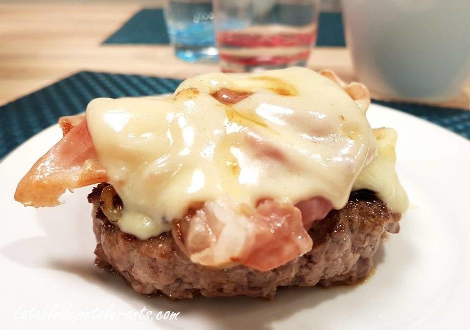 CROQUES STEAKS sans gluten, sans lactose