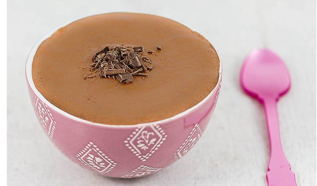 CRÈME AU CHOCOLAT sans gluten ni lait, avec ou sans sucre, sans œuf