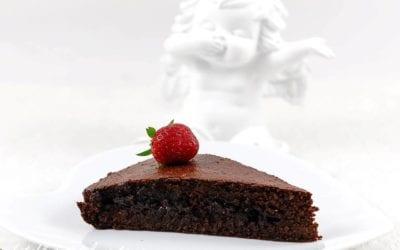 GÂTEAU MOELLEUX CHOCOLAT BETTERAVE sans gluten, sans lait, avec ou sans sucre, sans levure