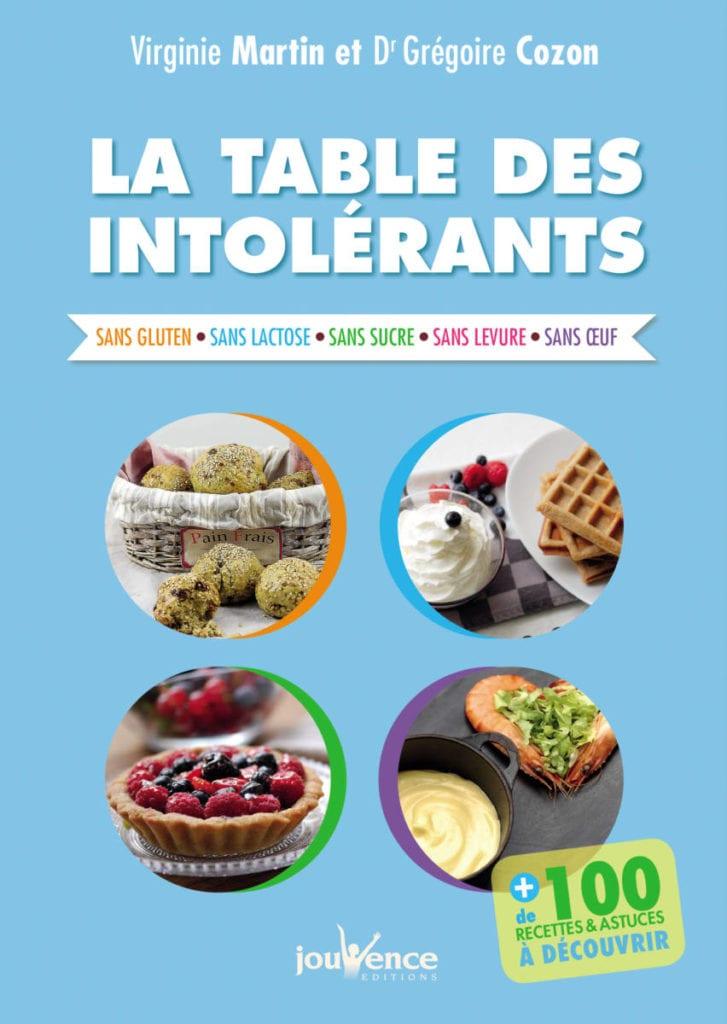 recettes pour allergies et intolérances alimentaires