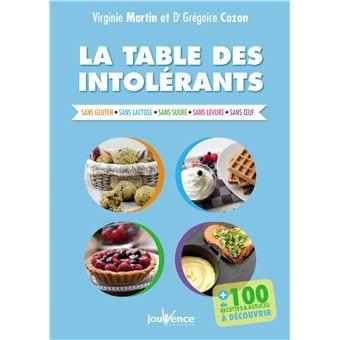 LE LIVRE – LA TABLE DES INTOLÉRANTS aux Éditions JOUVENCE
