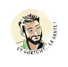 Étienne Bulidon, ostéopathe lyonnais, interview le Dr Cozon, immunologiste, sur le thème  : «Microbiote, immunité et émotions»