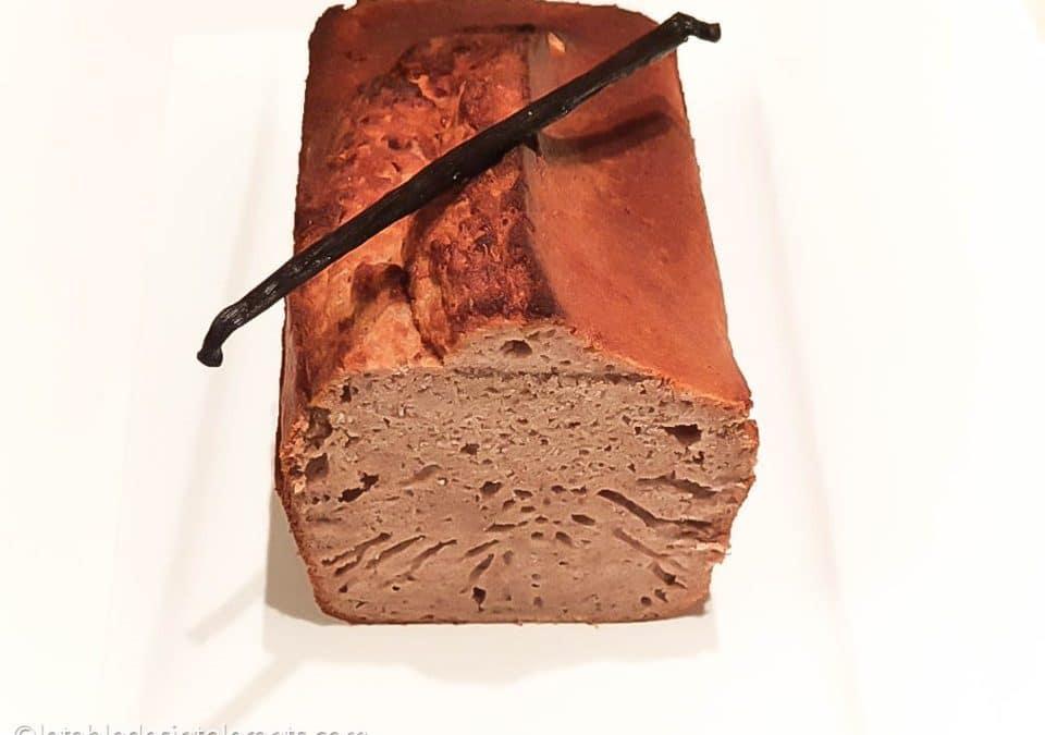 CAKE À LA VANILLE sans gluten, sans lait, avec ou sans sucre, sans levure, sans œuf