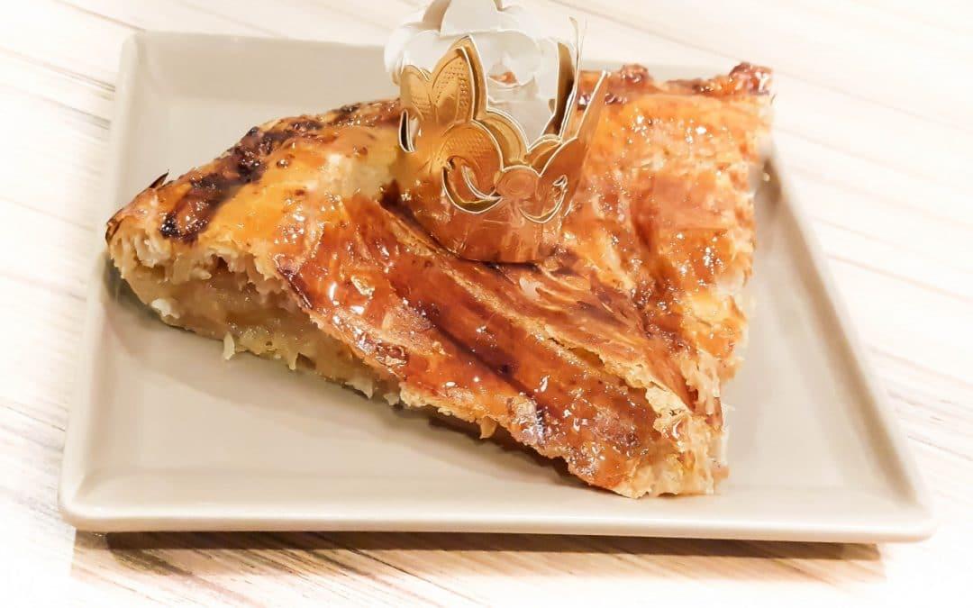 GALETTE DES ROIS EXPRESS AUX POMMES sans gluten, sans lait ou sans lactose, sans sucre ajouté, sans œuf