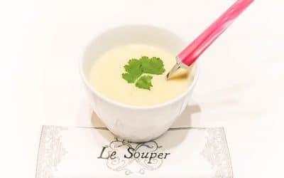 VELOUTÉ DE CHOU-FLEUR sans lactose ou sans lait