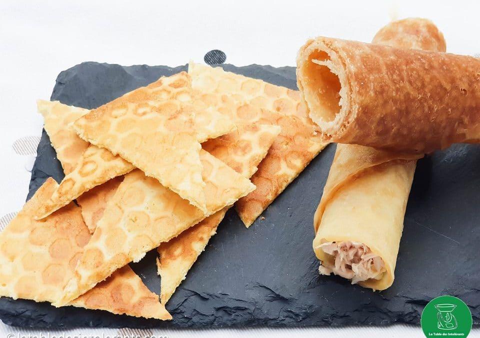 TORTILLAS CHIPS sans gluten, sans lait ou sans lactose, avec ou sans œuf